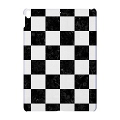 Square1 Black Marble & White Linen Apple Ipad Pro 10 5   Hardshell Case by trendistuff