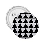 TRIANGLE2 BLACK MARBLE & WHITE LINEN 2.25  Buttons
