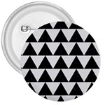 TRIANGLE2 BLACK MARBLE & WHITE LINEN 3  Buttons