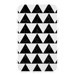 TRIANGLE2 BLACK MARBLE & WHITE LINEN Memory Card Reader