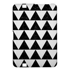 Triangle2 Black Marble & White Linen Kindle Fire Hd 8 9  by trendistuff