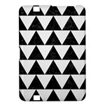 TRIANGLE2 BLACK MARBLE & WHITE LINEN Kindle Fire HD 8.9