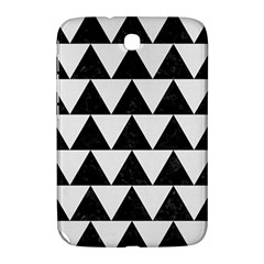 Triangle2 Black Marble & White Linen Samsung Galaxy Note 8 0 N5100 Hardshell Case  by trendistuff