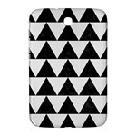TRIANGLE2 BLACK MARBLE & WHITE LINEN Samsung Galaxy Note 8.0 N5100 Hardshell Case