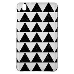 TRIANGLE2 BLACK MARBLE & WHITE LINEN Samsung Galaxy Tab Pro 8.4 Hardshell Case