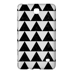 Triangle2 Black Marble & White Linen Samsung Galaxy Tab 4 (7 ) Hardshell Case  by trendistuff