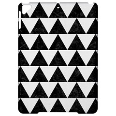 Triangle2 Black Marble & White Linen Apple Ipad Pro 9 7   Hardshell Case by trendistuff