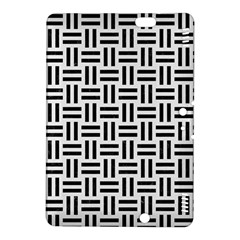 Woven1 Black Marble & White Linen Kindle Fire Hdx 8 9  Hardshell Case by trendistuff