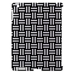 Woven1 Black Marble & White Linen (r) Apple Ipad 3/4 Hardshell Case (compatible With Smart Cover) by trendistuff