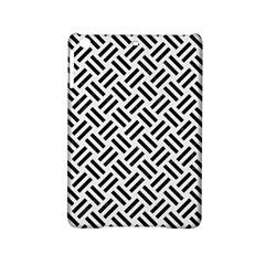 Woven2 Black Marble & White Linen Ipad Mini 2 Hardshell Cases by trendistuff
