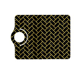 Brick2 Black Marble & Yellow Colored Pencil (r) Kindle Fire Hd (2013) Flip 360 Case by trendistuff
