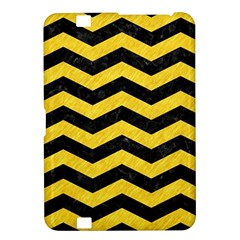 Chevron3 Black Marble & Yellow Colored Pencil Kindle Fire Hd 8 9  by trendistuff