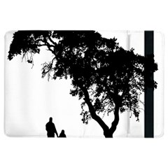 Black Father Daughter Natural Hill Ipad Air 2 Flip by Mariart