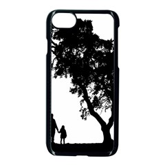 Black Father Daughter Natural Hill Apple Iphone 7 Seamless Case (black) by Mariart