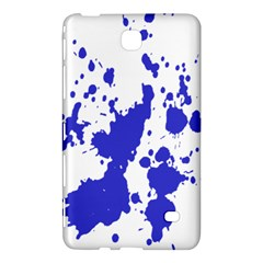 Blue Plaint Splatter Samsung Galaxy Tab 4 (7 ) Hardshell Case  by Mariart