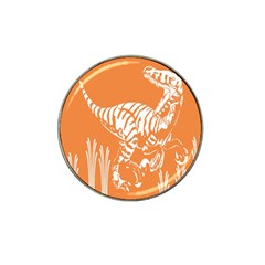 Animals Dinosaur Ancient Times Hat Clip Ball Marker (4 Pack) by Mariart