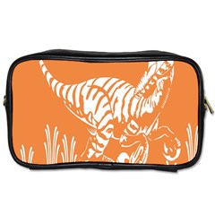 Animals Dinosaur Ancient Times Toiletries Bags 2 Side by Mariart