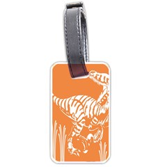 Animals Dinosaur Ancient Times Luggage Tags (one Side)