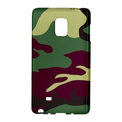 Camuflage Flag Green Purple Grey Galaxy Note Edge by Mariart