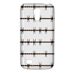 Barbed Wire Brown Galaxy S4 Mini by Mariart