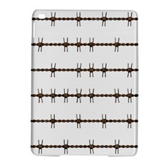 Barbed Wire Brown Ipad Air 2 Hardshell Cases by Mariart
