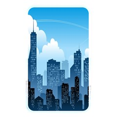 City Building Blue Sky Memory Card Reader by Mariart