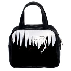 City History Speedrunning Classic Handbags (2 Sides) by Mariart