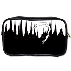 City History Speedrunning Toiletries Bags by Mariart