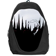City History Speedrunning Backpack Bag by Mariart