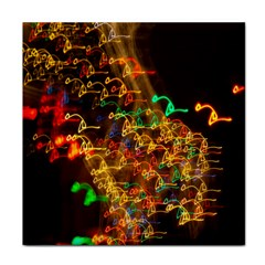 Christmas Tree Light Color Night Tile Coasters by Mariart