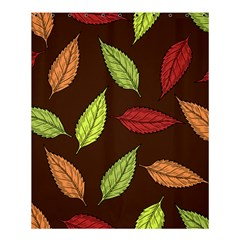 Autumn Leaves Pattern Shower Curtain 60  X 72  (medium)  by Mariart
