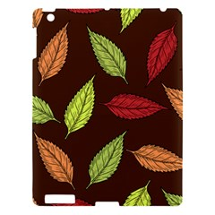 Autumn Leaves Pattern Apple Ipad 3/4 Hardshell Case by Mariart