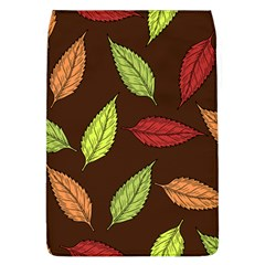 Autumn Leaves Pattern Flap Covers (l)  by Mariart