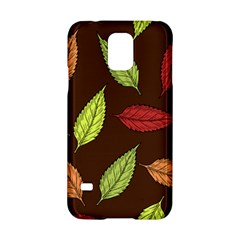Autumn Leaves Pattern Samsung Galaxy S5 Hardshell Case  by Mariart