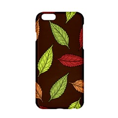 Autumn Leaves Pattern Apple Iphone 6/6s Hardshell Case by Mariart