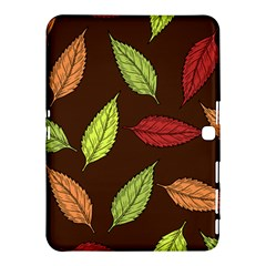 Autumn Leaves Pattern Samsung Galaxy Tab 4 (10 1 ) Hardshell Case  by Mariart