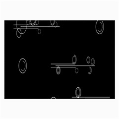 Feedback Loops Motion Graphics Piece Large Glasses Cloth (2 Side) by Mariart