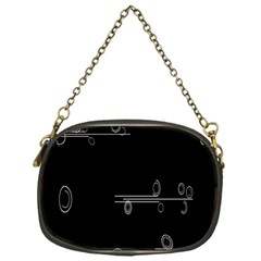 Feedback Loops Motion Graphics Piece Chain Purses (one Side)  by Mariart