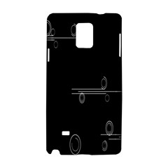 Feedback Loops Motion Graphics Piece Samsung Galaxy Note 4 Hardshell Case by Mariart