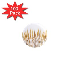 Wheat Plants 1  Mini Magnets (100 Pack)  by Mariart