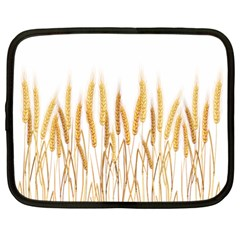 Wheat Plants Netbook Case (large) by Mariart