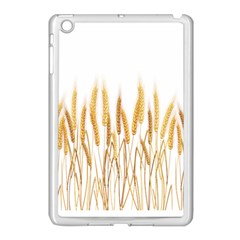 Wheat Plants Apple Ipad Mini Case (white) by Mariart