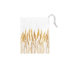 Wheat Plants Drawstring Pouches (xs)  by Mariart