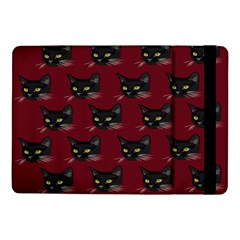 Face Cat Animals Red Samsung Galaxy Tab Pro 10 1  Flip Case by Mariart