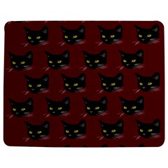 Face Cat Animals Red Jigsaw Puzzle Photo Stand (rectangular) by Mariart