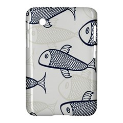 Fish Graphic Flooring Blue Seaworld Swim Water Samsung Galaxy Tab 2 (7 ) P3100 Hardshell Case  by Mariart