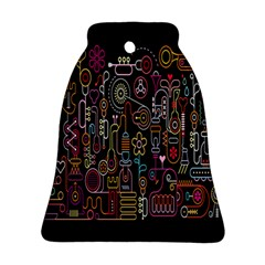 Features Illustration Ornament (bell) by Mariart
