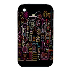 Features Illustration Iphone 3s/3gs by Mariart