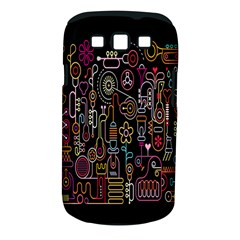 Features Illustration Samsung Galaxy S Iii Classic Hardshell Case (pc+silicone) by Mariart