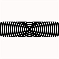 Gold Wave Seamless Pattern Black Hole Large Bar Mats by Mariart